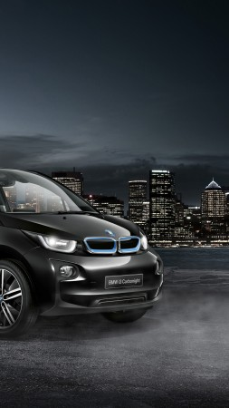 "BMW i3 ""Carbonight"", electric cars, electric, black (vertical)"