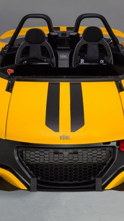 Vuhl 05, supercar, yellow, sport cars (vertical)