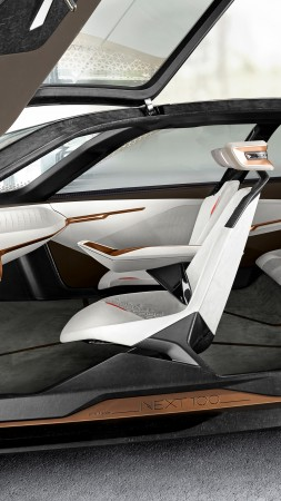 BMW Vision Next 100, future cars, interior (vertical)