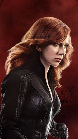 BLACK WIDOW, Scarlett Johansson, Captain America 3: civil war, Marvel, best movies of 2016 (vertical)