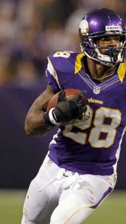 Adrian Peterson, Minnesota Vikings Bar, american football, 28 (vertical)