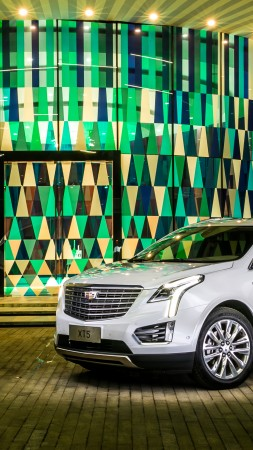 Cadillac XT5, crossover, white (vertical)