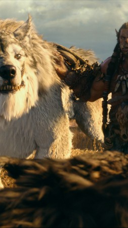 Warcraft, ork, wolf, Best Movies of 2016