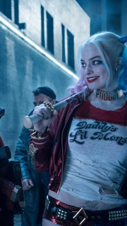 Suicide Squad, Harley Quinn, Margot Robbie, Will Smith, Best Movies of 2016 (vertical)