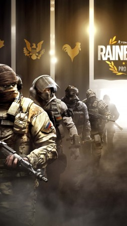 Tom Clancy's Rainbow Six pro league, operation black ice, best games, ship (vertical)
