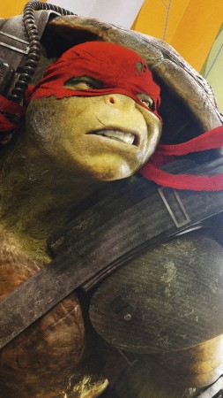 Teenage Mutant Ninja Turtles: Half Shell, raphael, Best Movies of 2016, Turtles (vertical)
