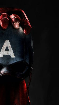 Captain America 3: civil war, skull, mask, Iron Man, Marvel, best movies of 2016 (vertical)