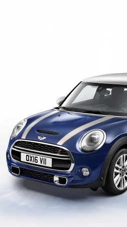 MINI, Cooper, S 5-Door Seven, blue (vertical)