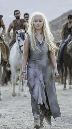 Game of Thrones, Emilia Clarke, Best TV Series, 6 season, Blood of my Blood (vertical)