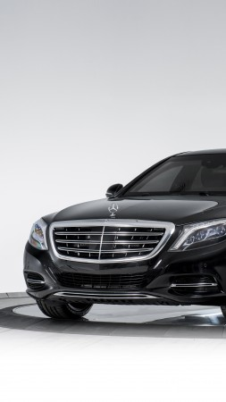 Mercedes-Maybach S 600, INKAS, luxury cars, armored car (vertical)