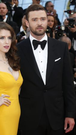 Justin Timberlake, Anna Kendrick, Cannes Film Festival 2016, Most popular celebs (vertical)