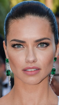 Adriana Lima, face, Cannes Film Festival 2016, red carpet, Most popular celebs, model (vertical)
