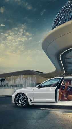 BMW 750Li xDrive Solitaire, luxury car (vertical)