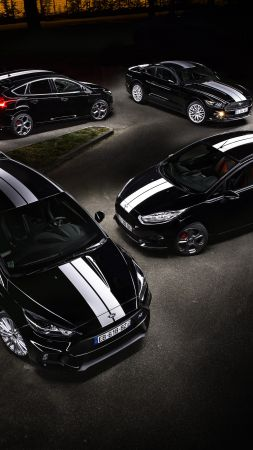 "Ford Focus RS ""Le Mans 50th Anniversary"", limited edition, Le Mans, black (vertical)"