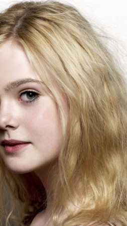 Elle Fanning, look, Most popular celebs (vertical)