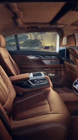 BMW 750Li xDrive Solitaire, luxury car, interior (vertical)