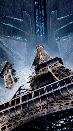 Independence Day: Resurgence, tour Eiffel, paris, best movies 2016 (vertical)
