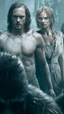 The Legend of Tarzan, Alexander Skarsgård, Margot Robbie, best movies 2016 (vertical)