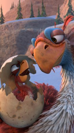 Ice Age :The Great Egg, birds, best animations of 2016 (vertical)