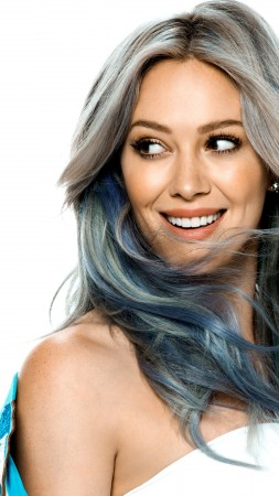 Hilary Duff, smile, Most popular celebs, actress (vertical)