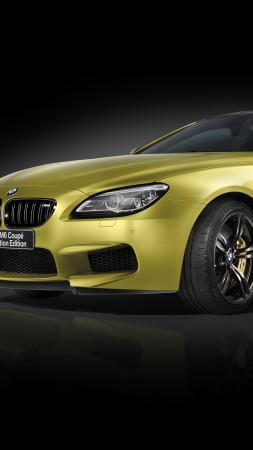 BMW M6 Coupe Celebration Edition Competition, gold