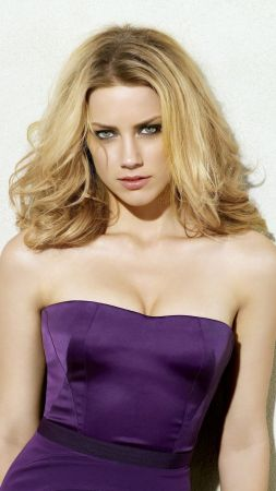 Amber Heard, Most popular celebs, actress, model (vertical)