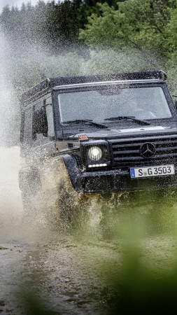Mercedes-Benz G 350 d Professional, suv, black