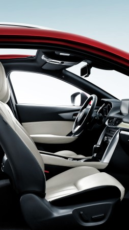 Mazda CX4, crossover, interior (vertical)
