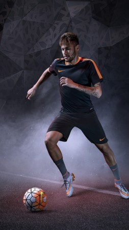 Neymar, nike, football, barselona (vertical)
