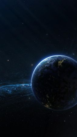 exoplanet, galaxy, space, stars