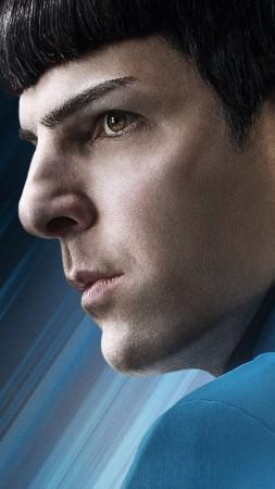 Star Trek Beyond, Zachary Quinto, Best movies of 2016 (vertical)