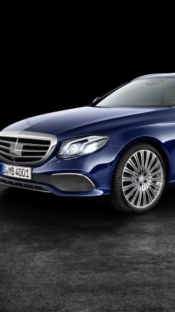 Mercedes-Benz E 200 d Exclusive Line Estate, luxury cars (vertical)