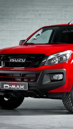 "Isuzu D-Max ""Fury"" Double Cab, pick-up, red"