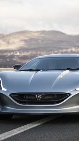 Rimac Concept 1, electric cars, electric, supercar (vertical)