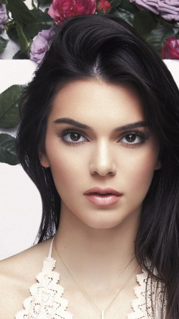 Kendall Jenner, look, eyes, Most popular celebs