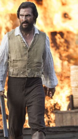 The Free State of Jones, fire, gun, Best movies, Matthew McConaughey (vertical)