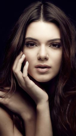 Kendall Jenner, look, eyes, Most popular celebs (vertical)