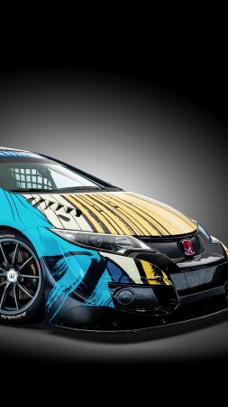 Honda Civic WTCC, Art Car Jean Graton (vertical)