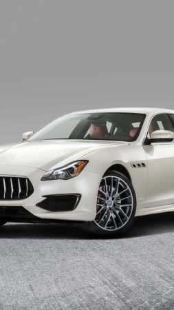 Maserati Quattroporte GranLusso, sedan, luxury cars (vertical)