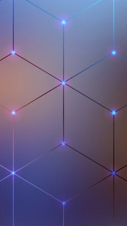 Spectrum Electromagnetic, lines, 4k, 5k, android wallpaper, violet, background (vertical)