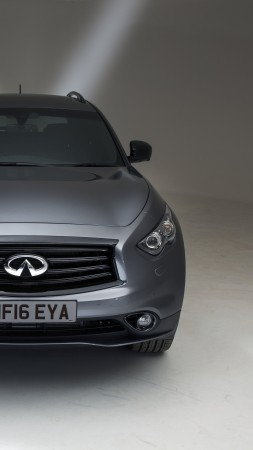 Infiniti QX70S, crossover, silver (vertical)