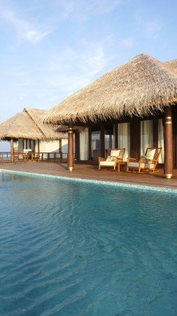 Anantara Kihavah Villas, Maldives, resort, pool, ocean, sea, water, travel, booking, vacation, hotel, sky, blue, World's best diving sites