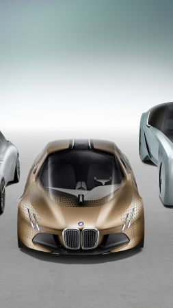 Rolls-Royce Vision Next 100, bmw, mini, future cars, futurism, silver (vertical)