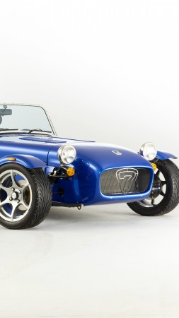 Caterham seven 275 r, caterham 7, blue