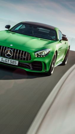 Mercedes-AMG GT R, green, Goodwood Festival of Speed 2016 (vertical)