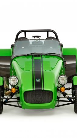 Caterham seven 275 r, caterham 7, green (vertical)