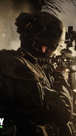 Call of Duty: Modern Warfare Remastered, shooter, PC, PS 4, Xbox One (vertical)