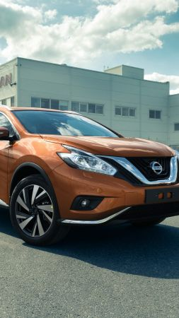 Nissan Murano, crossover, orange (vertical)