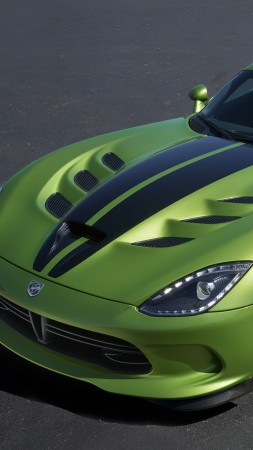 Dodge Viper GTS-R, Commemorative Edition ACR, green, speed