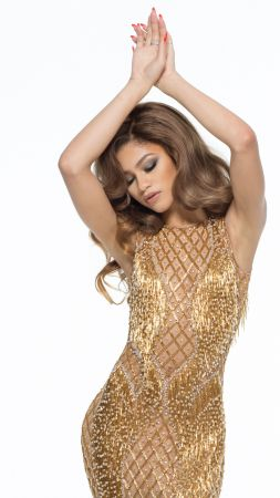 Zendaya, dress, look, Most popular celebs (vertical)
